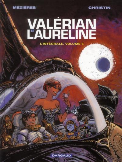 Couverture Valérian - intégrale valérian et laureline tome 6