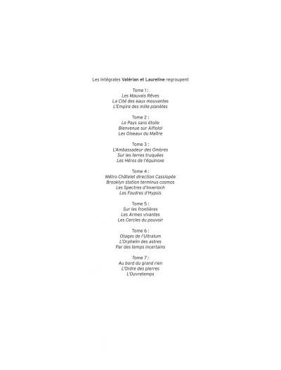 Page 2 Valérian - intégrale valérian et laureline tome 6