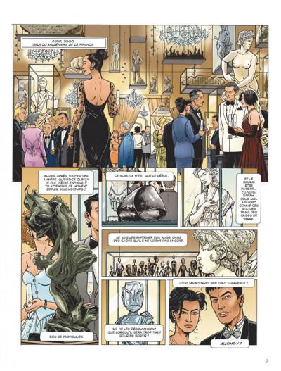 Page 1 Dantès tome 2 - six années en enfer