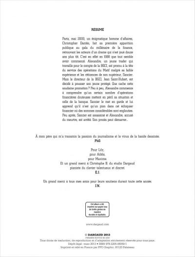 Page 2 Dantès tome 2 - six années en enfer