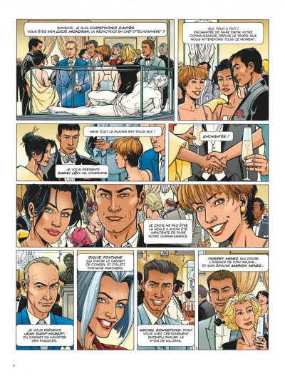 Page 4 Dantès tome 2 - six années en enfer