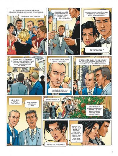 Page 5 Dantès tome 2 - six années en enfer