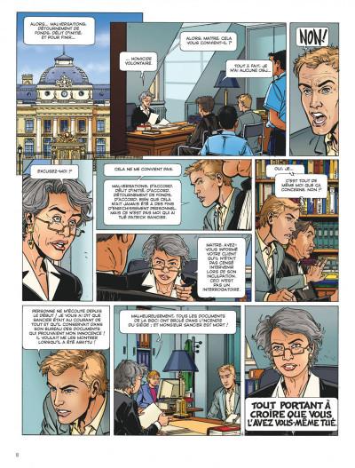 Page 8 Dantès tome 2 - six années en enfer