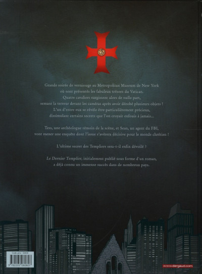 Dos Le dernier templier tome 1 - l'encodeur