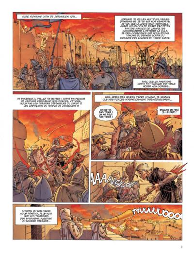 Page 1 Le dernier templier tome 1 - l'encodeur