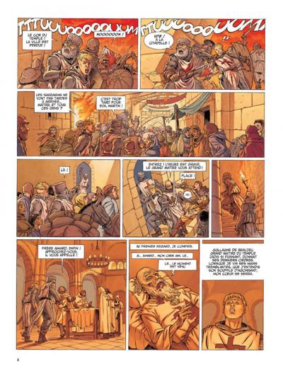 Page 2 Le dernier templier tome 1 - l'encodeur