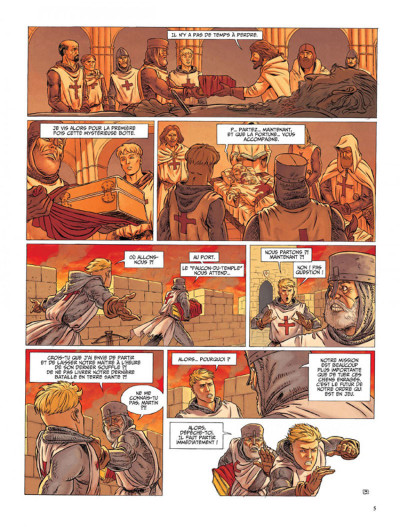 Page 3 Le dernier templier tome 1 - l'encodeur