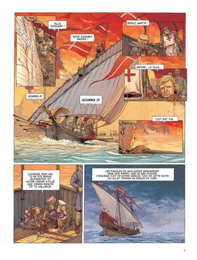 Page 5 Le dernier templier tome 1 - l'encodeur