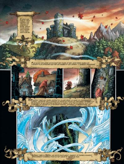Page 1 Chroniques de la lune noire tome 0 - en un jeu cruel