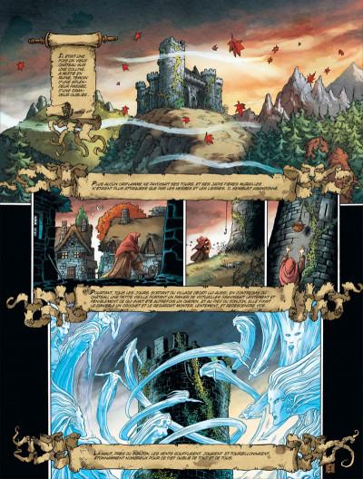 Page 3 Chroniques de la lune noire tome 0 - en un jeu cruel