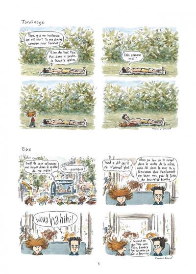 Page 3 Pico bogue tome 1 - la vie et moi