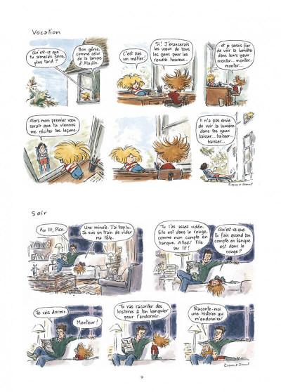Page 7 Pico bogue tome 1 - la vie et moi