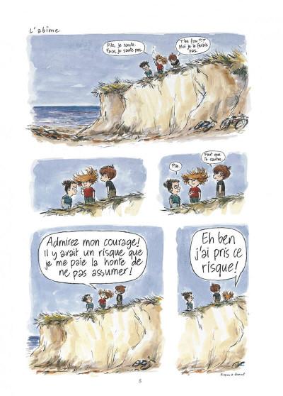 Page 8 Pico bogue tome 1 - la vie et moi