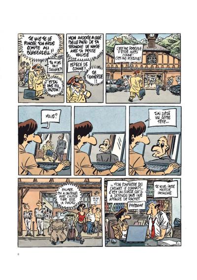Page 4 Jack palmer tome 14 - enquête au paradis