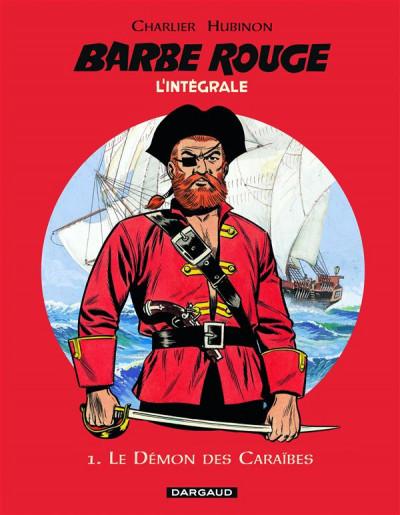 Couverture Barbe rouge - intégrale tome 1 - le démon des caraïbes (ned)