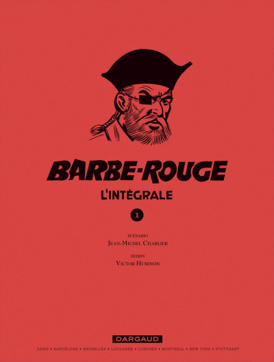 Page 1 Barbe rouge - intégrale tome 1 - le démon des caraïbes (ned)