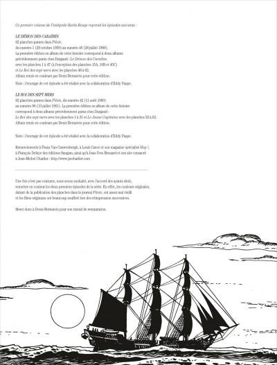Page 2 Barbe rouge - intégrale tome 1 - le démon des caraïbes (ned)