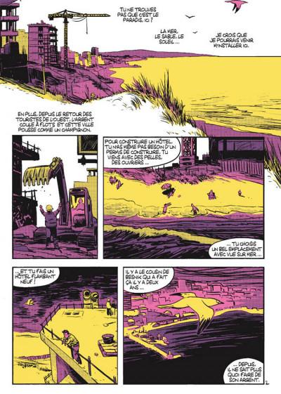 Page 2 Cellule poison tome 3 - La main dans le sac