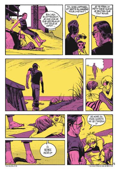 Page 5 Cellule poison tome 3 - La main dans le sac