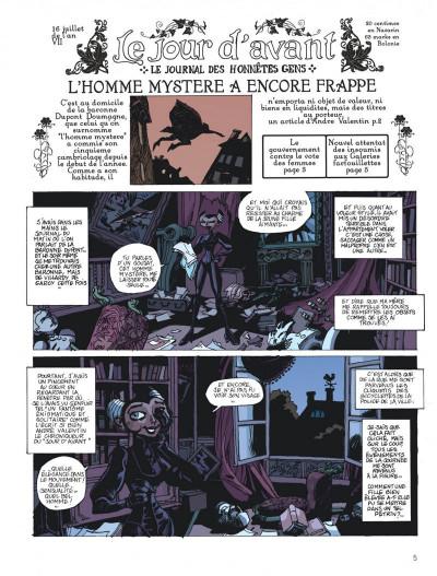 Page 5 la voleuse du père-fauteuil ; intégrale