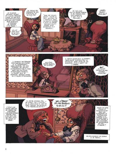 Page 8 la voleuse du père-fauteuil ; intégrale
