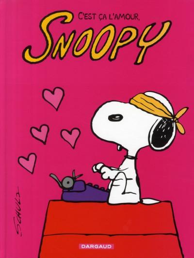 Couverture snoopy tome 40 - c'est ça l'amour