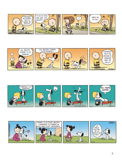 Page 1 snoopy tome 40 - c'est ça l'amour