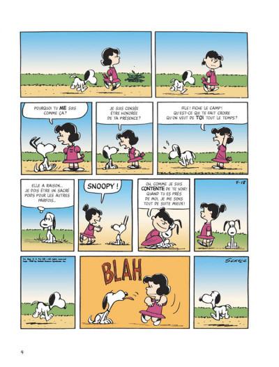 Page 2 snoopy tome 40 - c'est ça l'amour