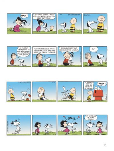 Page 5 snoopy tome 40 - c'est ça l'amour