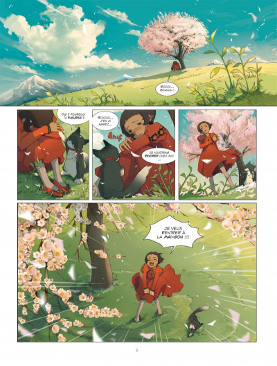 Page 3 Le rêve du papillon tome 1 - lapins sur la lune