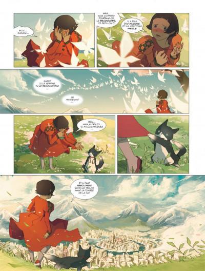 Page 5 Le rêve du papillon tome 1 - lapins sur la lune
