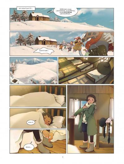 Page 6 Le rêve du papillon tome 1 - lapins sur la lune