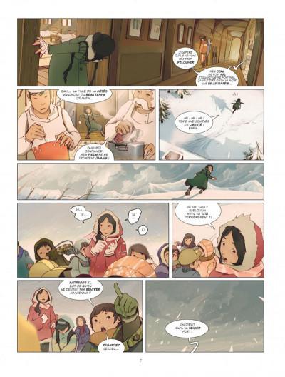 Page 7 Le rêve du papillon tome 1 - lapins sur la lune