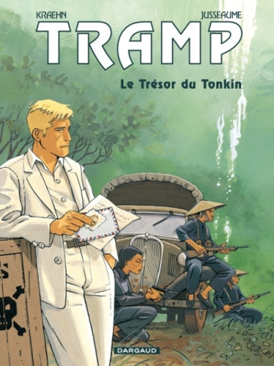 Couverture Tramp tome 9 - le trésor du tonkin