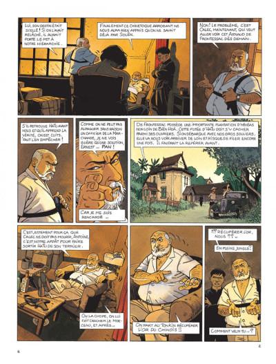 Page 2 Tramp tome 9 - le trésor du tonkin