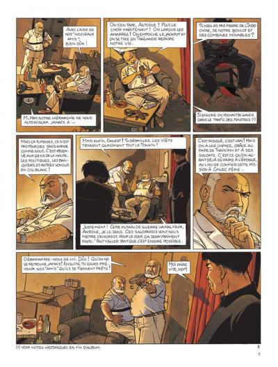 Page 3 Tramp tome 9 - le trésor du tonkin