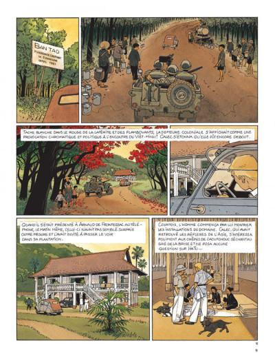 Page 5 Tramp tome 9 - le trésor du tonkin