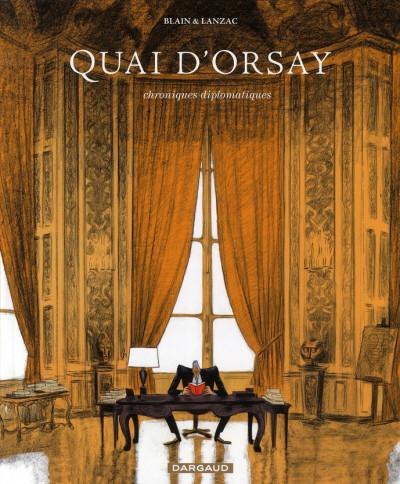 Couverture Quai d'orsay tome 1 - chroniques diplomatiques