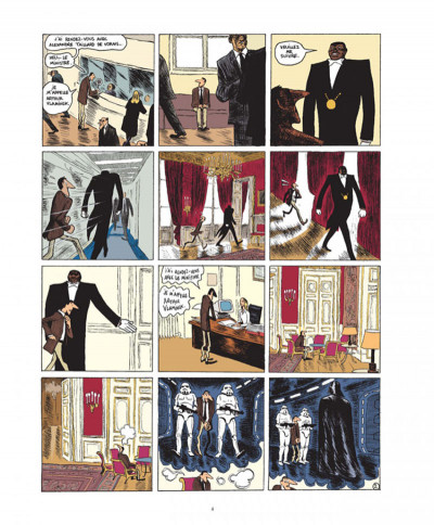 Page 2 Quai d'orsay tome 1 - chroniques diplomatiques