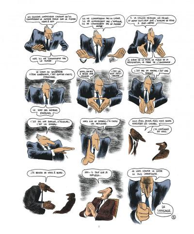 Page 7 Quai d'orsay tome 1 - chroniques diplomatiques