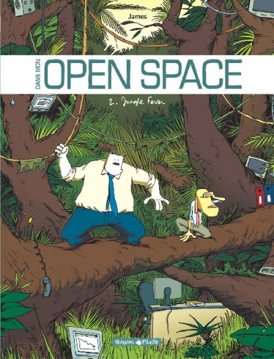 Couverture Dans mon open space tome 2 - jungle fever