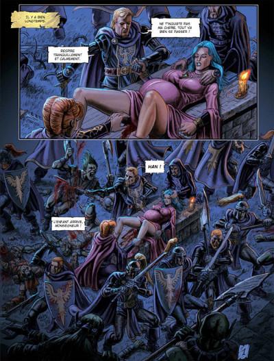 Page 1 Les arcanes de la lune noire tome 3 - parsifal