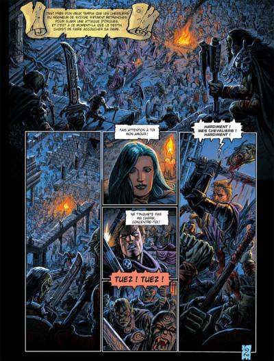 Page 2 Les arcanes de la lune noire tome 3 - parsifal