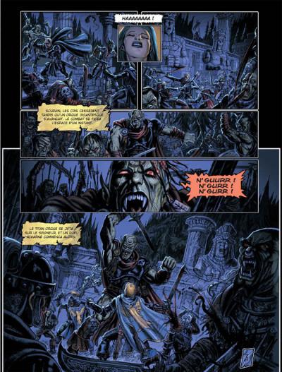 Page 3 Les arcanes de la lune noire tome 3 - parsifal