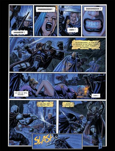 Page 4 Les arcanes de la lune noire tome 3 - parsifal