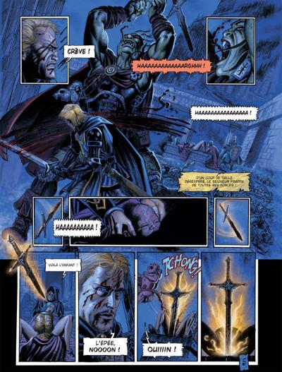 Page 5 Les arcanes de la lune noire tome 3 - parsifal