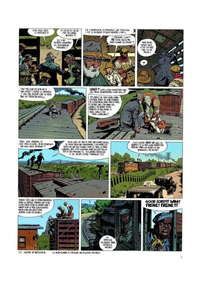 Page 5 O'boys tome 2 - deux chats gais sur un train brûlant