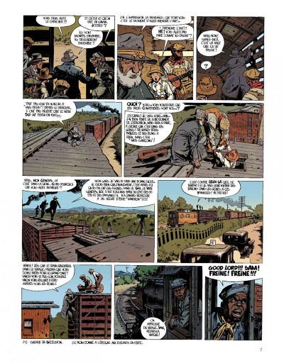 Page 7 O'boys tome 2 - deux chats gais sur un train brûlant