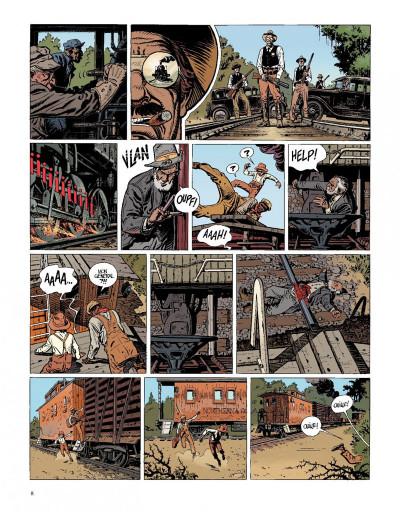 Page 8 O'boys tome 2 - deux chats gais sur un train brûlant