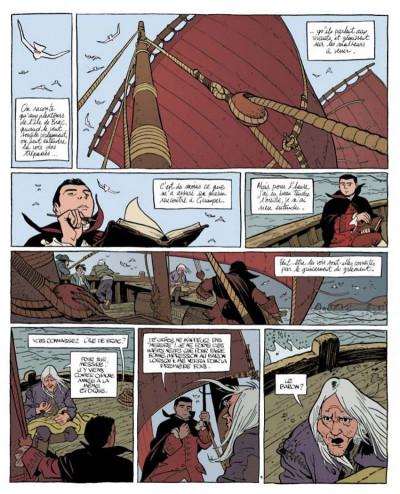 Page 1 Le marquis d'anaon tome 1 - l'île de brac